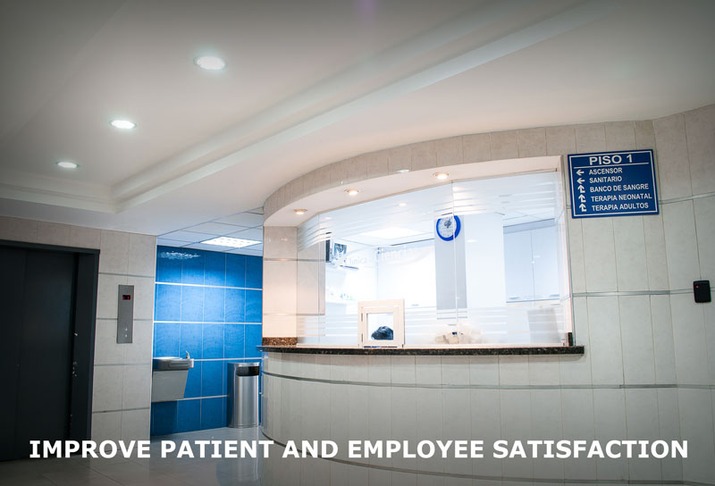 human centric lighting for hospitals
