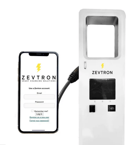 zevtron electric vehicle charging stations